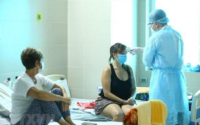 Vietnam records 10 more COVID-19 cases, bringing total to 163