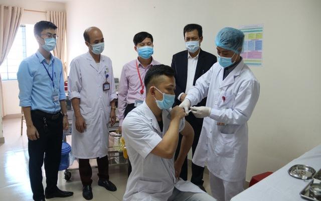 Bắc Ninh là tỉnh đầu tiên trong cả nước triển khai tiêm vaccine COVID-19 đợt 2