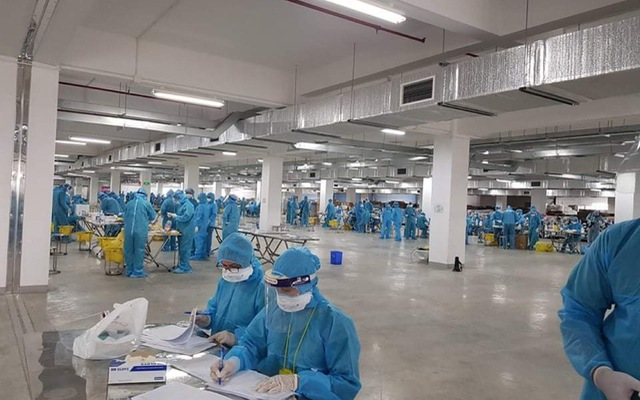 Bắc Giang đã có 332 ca mắc COVID-19, xác định 4.000 công nhân Công ty Hosiden là F1