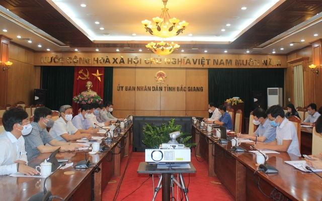 Bộ Y tế sẵn sàng tập trung nguồn lực hỗ trợ Bắc Giang chống dịch COVID-19