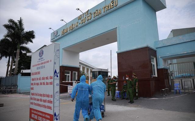Hà Nội ghi nhận thêm 2 trường hợp dương tính với SARS-CoV-2, liên quan đến Bệnh viện K cơ sở Tân Triều