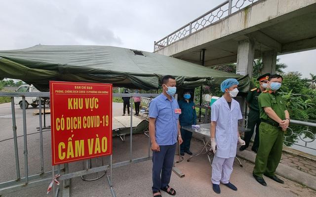 Bắc Ninh lập 4 chốt liên ngành kiểm soát dịch vị trí tiếp giáp huyện Thuận Thành