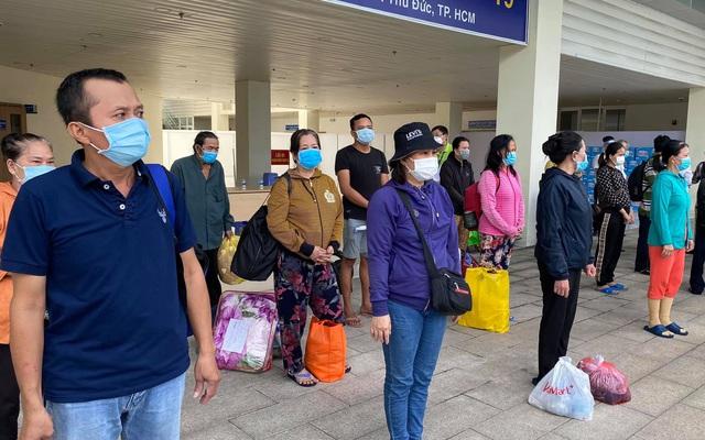 Thêm 1.955 bệnh nhân COVID-19 tại TP. Hồ Chí Minh được xuất viện
