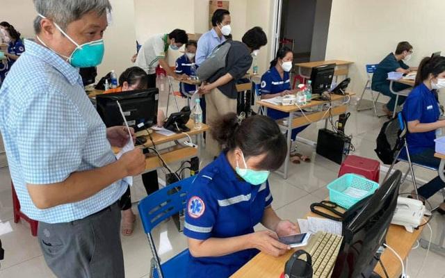 Trung tâm cấp cứu 115, mắt xích quan trọng trong công tác điều phối bệnh nhân COVID-19 tại TP. Hồ Chí Minh
