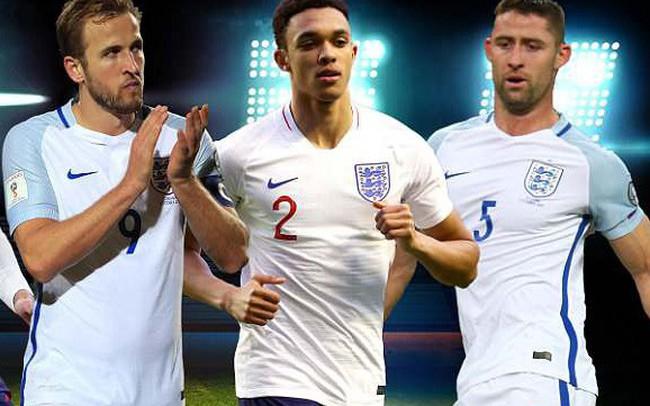 World Cup 2018: ĐT Anh chính thức chốt danh sách 23 tuyển thủ góp mặt