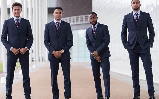 Tuyển Anh bảnh bao, sẵn sàng xung trận tại World Cup 2018