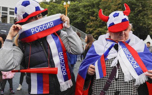 Phóng viên Thể Thao VTV tác nghiệp tại Nga: Người dân Nga và kỳ vọng ở trận mở màn World Cup 2018