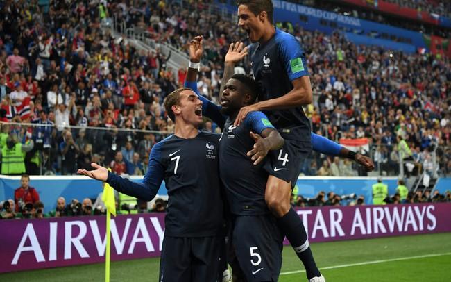 Chấm điểm Pháp 1-0 Bỉ: Giroud vô duyên nhưng đã có Umtiti, Pogba, Mbappe!
