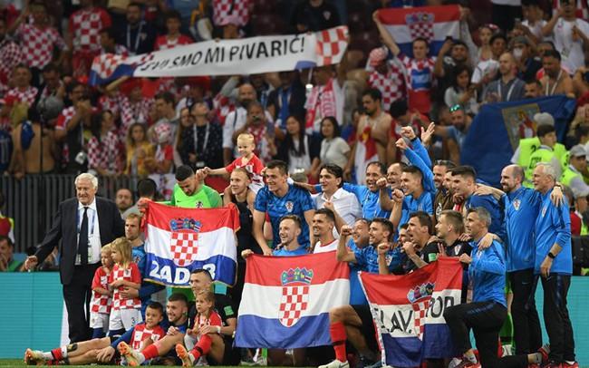 Đây là lý do khiến tất cả phải ngả mũ thán phục kỳ tích của Croatia