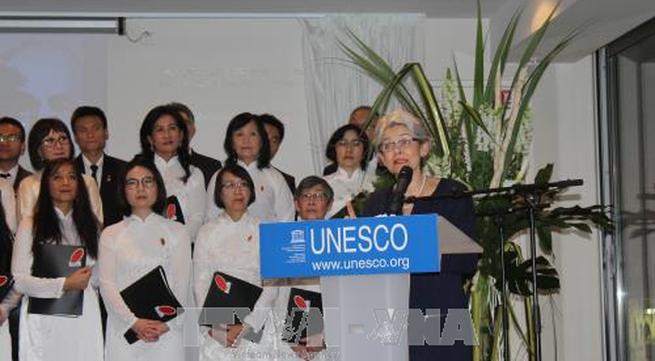 Celebrating UNESCO resolution on Ho Chi Minh's birthday