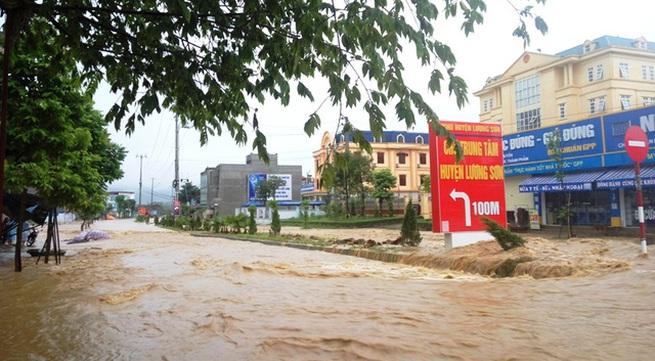 Hoa Binh province response to flood and landslide