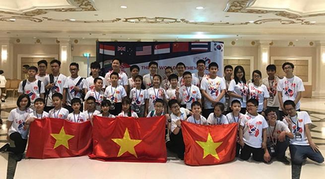 Vietnamese students win big at WMTC 2017