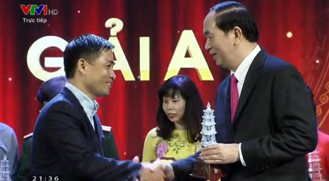 VTV won one A prize, two B prizes at the XI National Press Award