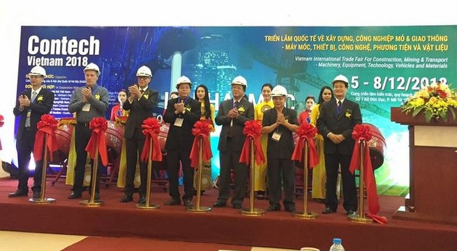 Contech Vietnam 2018 gathers leading construction brands