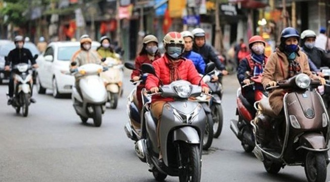 Fresh cold wave to send Hanoi temperatures below 20C
