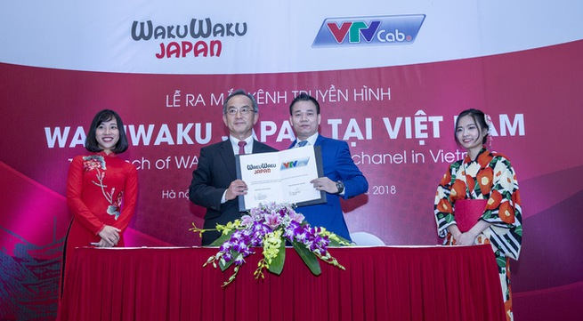Explore Japan through the TV channel Wakuwaku Japan on VTVcab