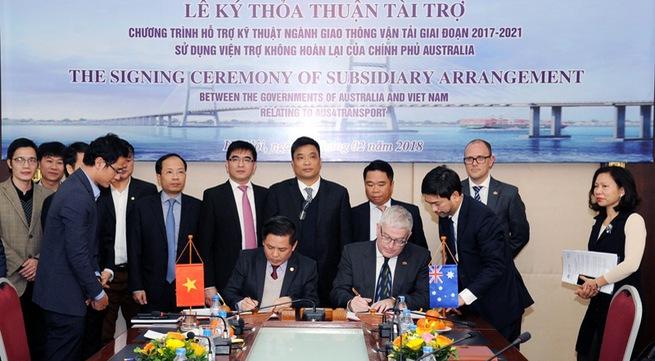 Australia provides US$24 million for Vietnam transport infrastructure