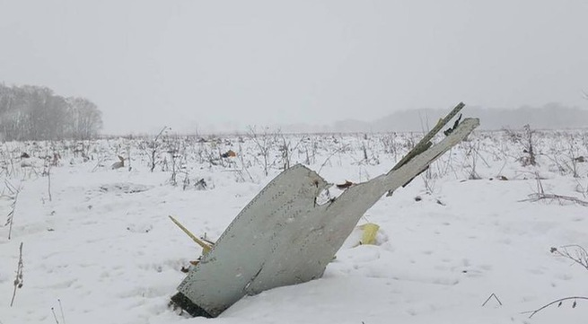 Plane crashes near Moscow, killing 71 people - agencies