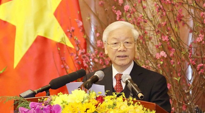 Party chief optimistic about national development in 2018