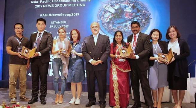 VTV receives ABU's Asiavision award