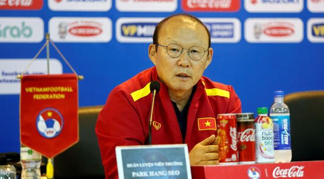 Coach Park: Vietnam have no fear of Thai rivals in continental U23 tournament qualifier