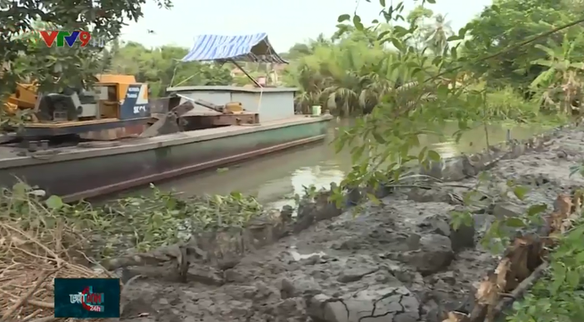 Saline intrusion in Mekong Delta forecast to rise