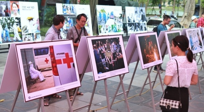 Photo exhibition diaries about life during COVID-19