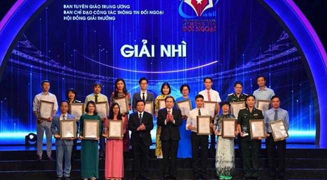 VTV won 04 National Awards on External Information