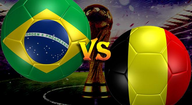 """TRỰC TIẾP Brazil - Bỉ cùng """"Võ đoán"""" 2018 FIFA World Cup™"""