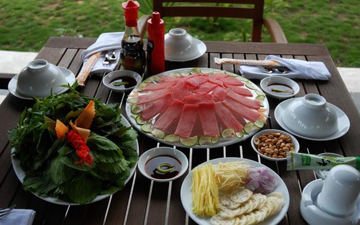 Cá ngừ đại dương- đặc sản biển Phú Yên