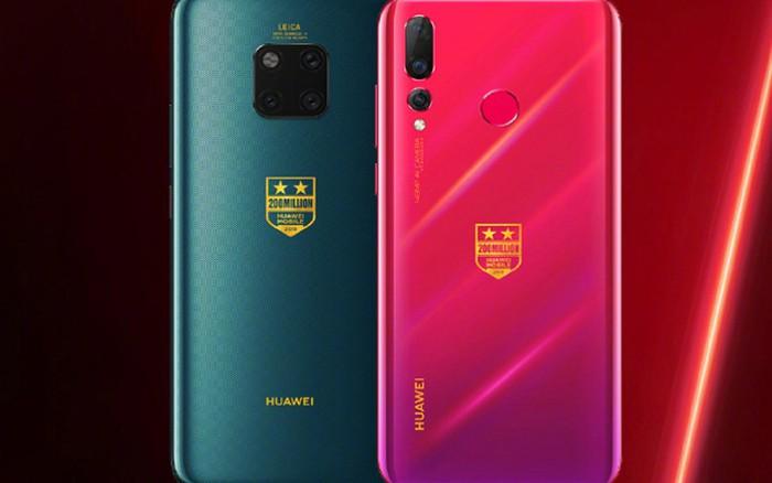 Huawei ra mắt phiên bản điện thoại đặc biệt đánh dấu kỷ lục bán 200 triệu smartphone