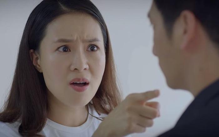 """Hoa hồng trên ngực trái - Tập 23: Khuê chỉ thẳng mặt Thái đe dọa giành lại quyền nuôi con vì """"không còn là..."""