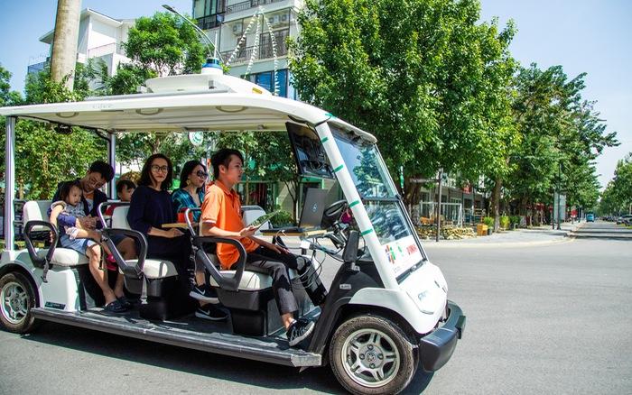 FPT thử nghiệm thành công xe tự hành trong khu đô thị, cho phép đặt xe qua ứng dụng