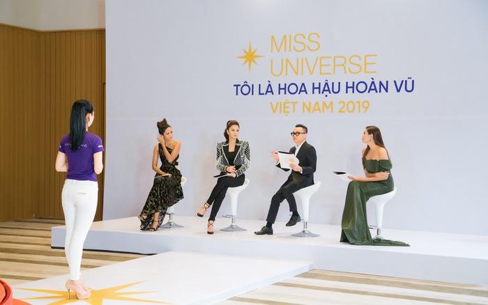 Tôi là Hoa hậu Hoàn vũ Việt Nam 2019 - Tập 2: Cùng là người nổi tiếng, Hương Ly được khen hết lời, Thúy Vân...