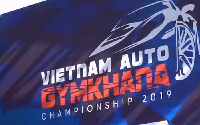 Giải đua Gymkhana Việt Nam khởi tranh - xổ số ngày 22102019