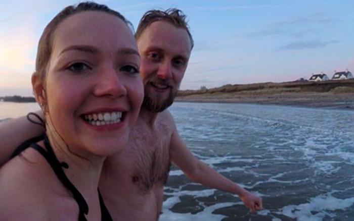 Bơi trong nước lạnh 100 ngày để chữa đau nửa đầu - bơi