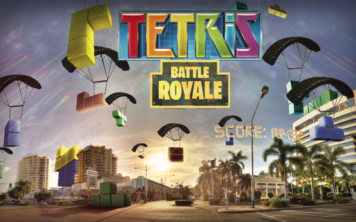 Tetris Royale ra mắt chế độ thi đấu 100 người chơi