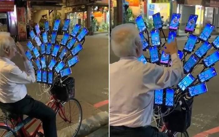 """""""Ông chú"""" Pokemon dùng đến 30 smartphone để chơi game"""