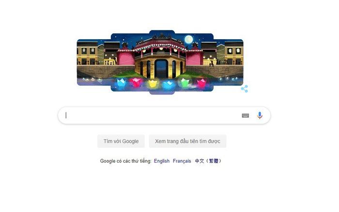 Google tôn vinh phố cổ Hội An bằng doodle mới
