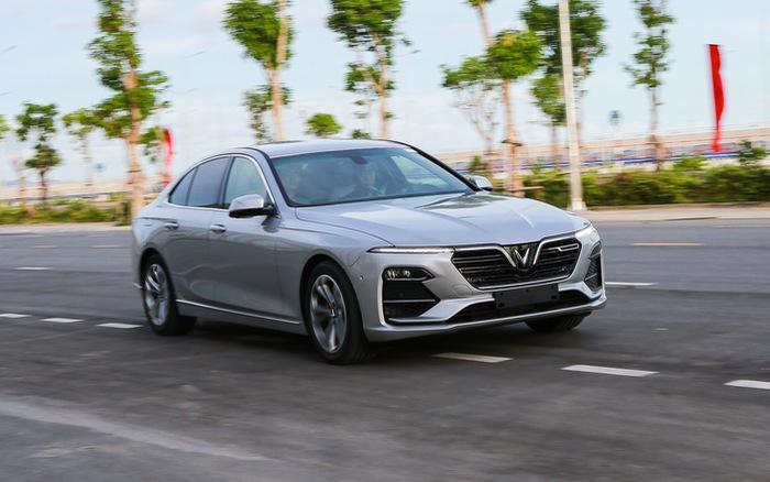 Cận cảnh xe sedan cao cấp VinFast Lux A2.0