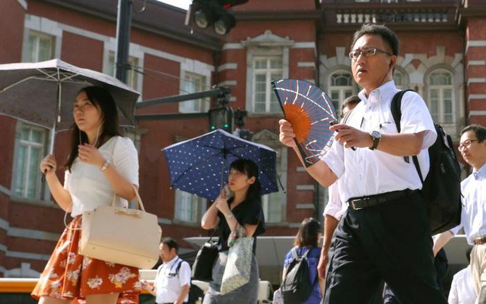 Nắng nóng tại Nhật Bản khiến gần 60 người tử vong