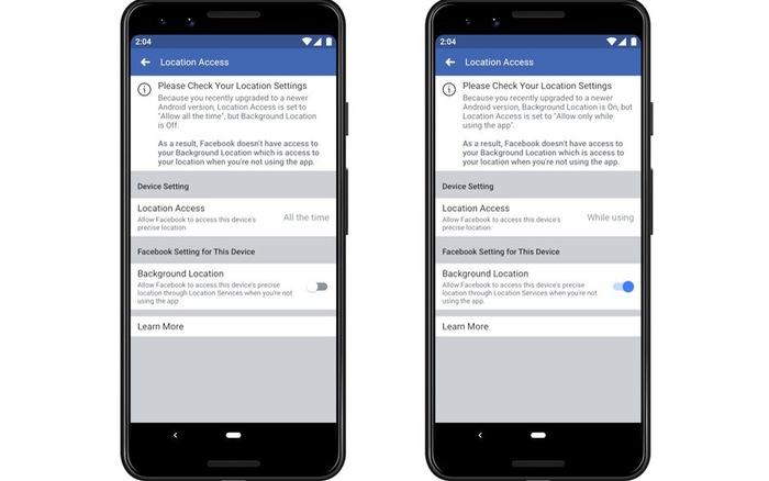 Người dùng có thể không thích những thay đổi này của Facebook trên Android 10 và iOS 13