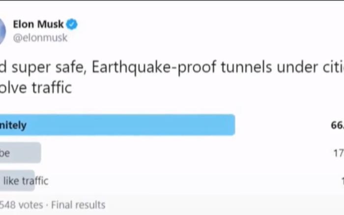 Đường hầm riêng dành cho ô tô điện có thể thành hiện thực