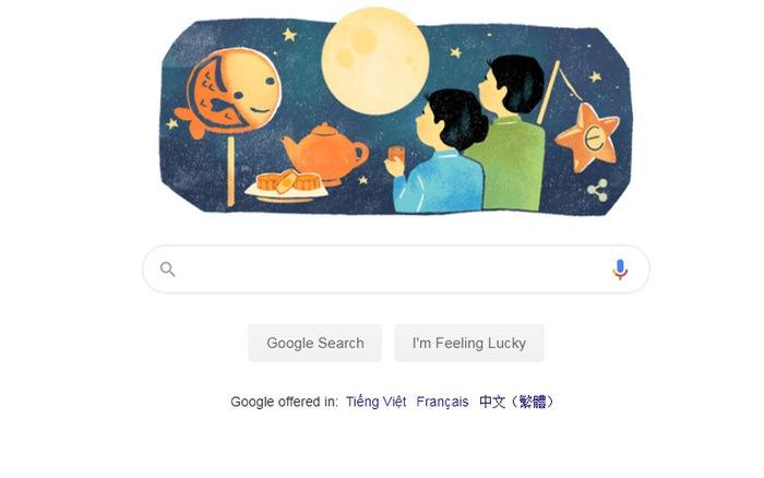 Google mừng Tết trung thu Việt Nam với ảnh đại diện mới