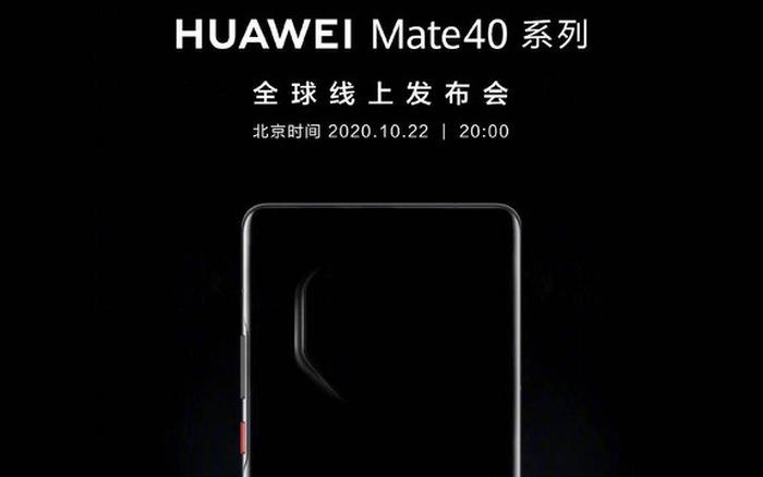 Lộ cấu hình chi tiết và thiết kế cụm camera độc đáo của Huawei Mate 40 Pro