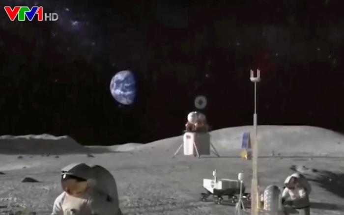 Triển khai dự án 4G trên Mặt Trăng