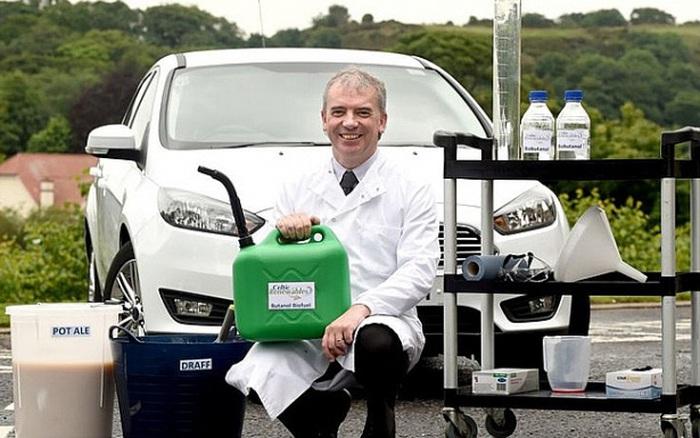 Độc đáo nhiên liệu cho ô tô làm từ... rượu Whisky