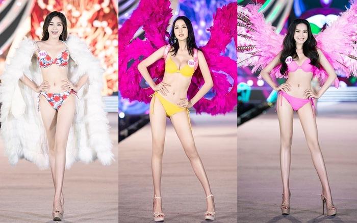 Thí sinh Hoa hậu Việt Nam 2020 trình diễn bikini