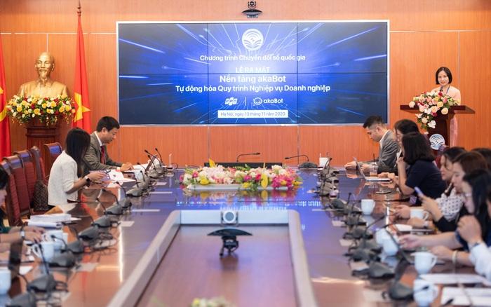 Bộ TT - TT công bố nền tảng Make in Vietnam, tự động hóa quy trình nghiệp vụ