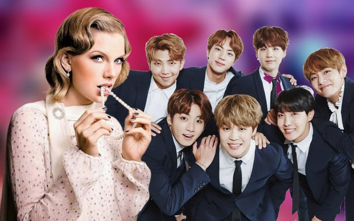 "People's Choice Awards 2020: BTS thắng lớn, Taylor Swift suýt ""trắng tay"""